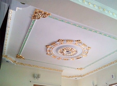 Gypsum Decoration Interior Ceiling Design Shahenoor