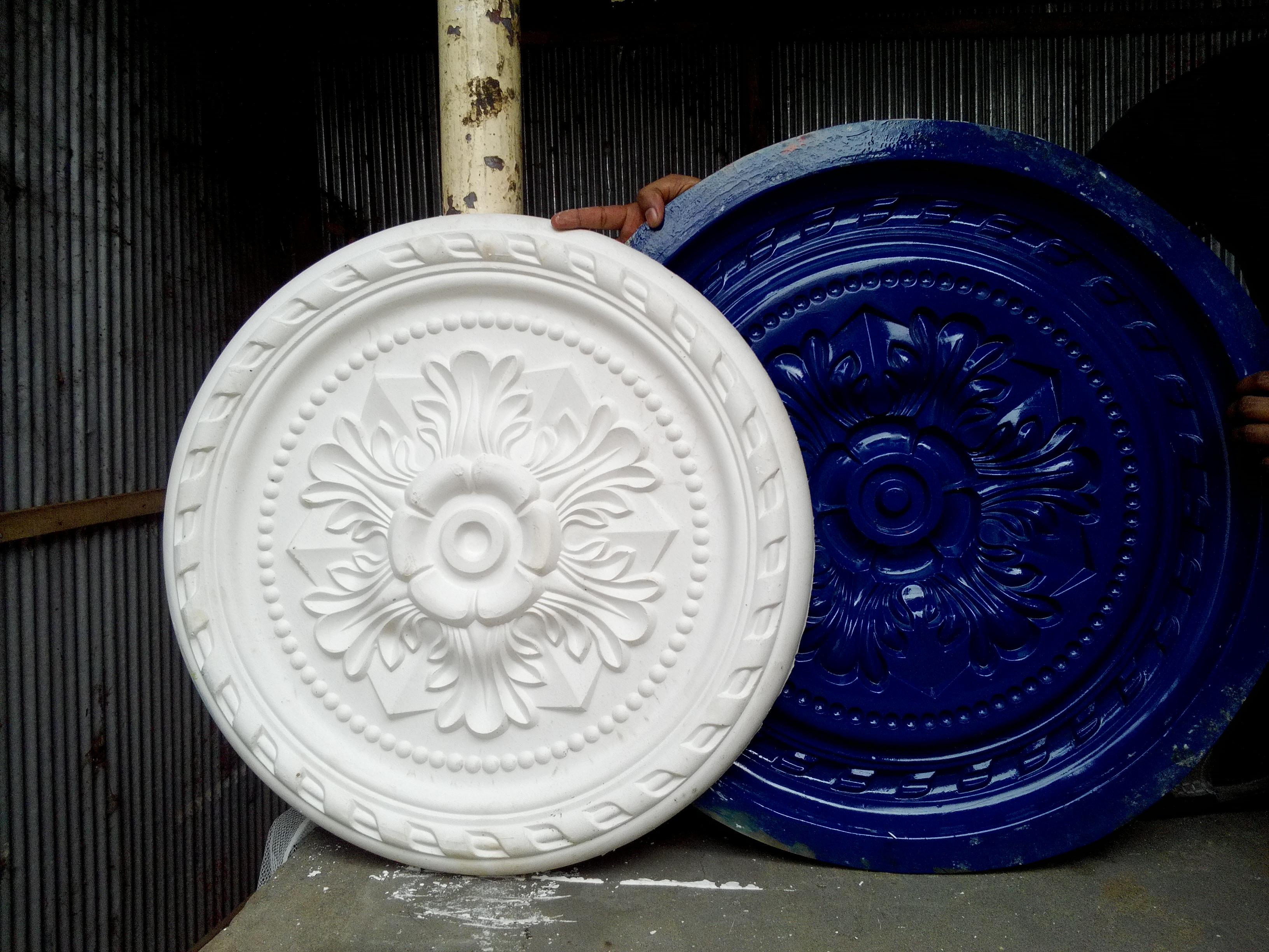 Jipson Jipsum Gipsam Gibsam Gypsum Decoration Dice Dies